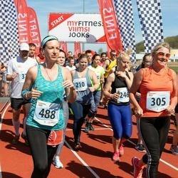 MyFitness Viimsi Jooks - Anni Antonis (210), Marie Johanson (246), Ingrit Lepasild (305), Jooksja Nr 13231 (488)