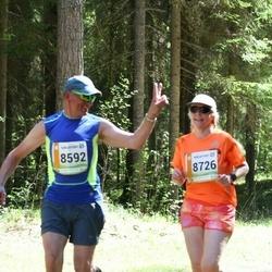 36. Tartu Maastikumaraton - Bogdan Prokopjuk (8592), Soile Sild (8726)