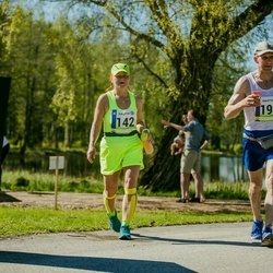 36. Tartu Maastikumaraton - Ene Ojaperv (142), Viljar Ott (199)