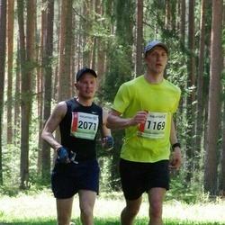 36. Tartu Maastikumaraton - Taago Hiiesalu (1169), Andre Maide (2071)