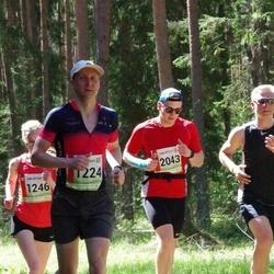 36. Tartu Maastikumaraton - Lauri Kiivit (1224), Arto Tõnnis (2043)