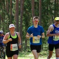 36. Tartu Maastikumaraton - Linda Meiesaar (1802), Ander Markus Kroon (8278)