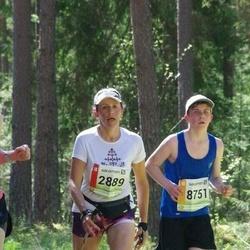 36. Tartu Maastikumaraton - Agnese Smiltniece (2889), Robin Suurpere (8751)