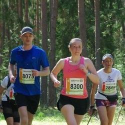 36. Tartu Maastikumaraton - Agnese Smiltniece (2889), Ilmar Freimann (8075), Katrin Kurvits (8300)