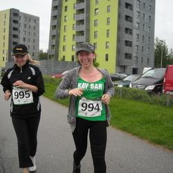 PAF Tartu Olümpiajooks - Anni Leiger (994), Liina Leiger (995)