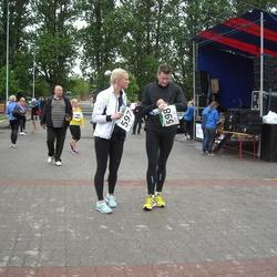 PAF Tartu Olümpiajooks - Jana Saarna (597), Veiko Vassiljev (598)