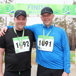 SEB 31. Tartu Jooksumaraton - Ago Viner (1091), Andrus Sareal (1092)