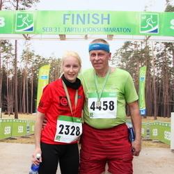 SEB 31. Tartu Jooksumaraton - Bianca Mehine (2328), Urmas Leets (4458)