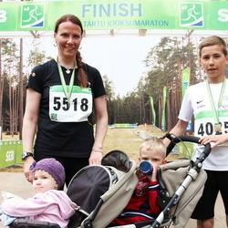 SEB 31. Tartu Jooksumaraton - Armin Angerjärv (4025), Tiina Angerjärv (5518)