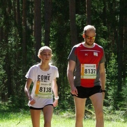 36. Tartu Maastikumaraton - Hannes Jalg (8137), Triinu Jalg (8138)