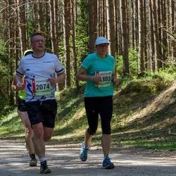 36. Tartu Maastikumaraton - Birgit Nool (1803), Madis Raudsaar (2074)