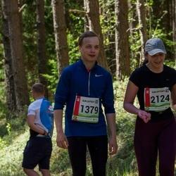 36. Tartu Maastikumaraton - Aron-Sven Kilk (1379), Anete Aasmäe (2124)