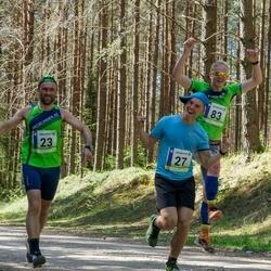 36. Tartu Maastikumaraton - Björn Puna (23), Hendrik Rull (27), Rando Ernits (83)