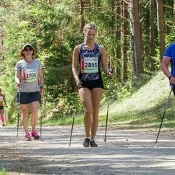 36. Tartu Maastikumaraton - Annika Aas (2701), Piia Riim (2864), Pille Riim (2865)