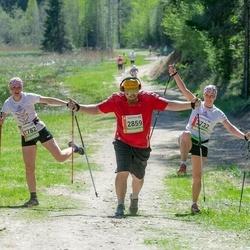 36. Tartu Maastikumaraton - Dace Janeka (2732), Mara Lakute (2782), Joel Raudsepp (2859)