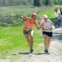 36. Tartu Maastikumaraton - Maris Aavik (2702), Katrin Luha (2801)