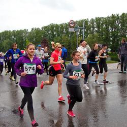 PAF Tartu Olümpiajooks - Liilija Verev (574), Merit Nukka (637), Silver Konksi (1223)