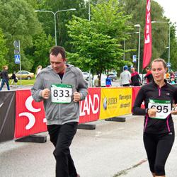 PAF Tartu Olümpiajooks - Birgit Silm (695), Aigar Fedulov (833)