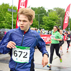 PAF Tartu Olümpiajooks - Artam Kivisild (672), Kairit Kaasik (969)