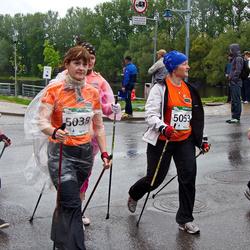 PAF Tartu Olümpiajooks - Anneli Kangur (5038), Liia Vilumaa (5047), Heidi Põder (5053), Christel Umal (5057)