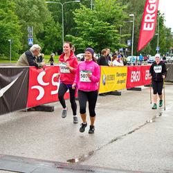 PAF Tartu Olümpiajooks - Kerli Pihlak (5058), Berit Kroon (5084), Hanno Kroon (5085)
