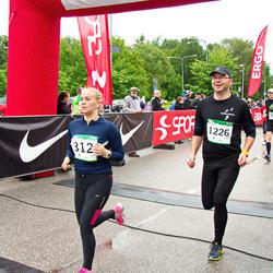 PAF Tartu Olümpiajooks - Anastasia Gerassimova (312), Arvi Uustalu (1226)