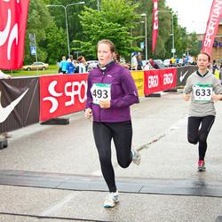 PAF Tartu Olümpiajooks - Eve Külasalu (493), Margit Malva (633)