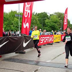 PAF Tartu Olümpiajooks - Tauno Trallmann (395), Mariane Vaik (709), Liis Pung (924)