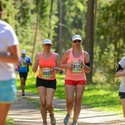 36. Tartu Maastikumaraton - Age Kala (8174), Evelyn Tõniste (8856)