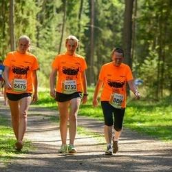 36. Tartu Maastikumaraton - Brigitta Mõttus (8475), Maichl Suur (8750), Reet Uibo (8866)