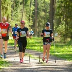 36. Tartu Maastikumaraton - Helina Jõesaar (2735), Jane Savolainen (2878), Triinu Jalg (8138)