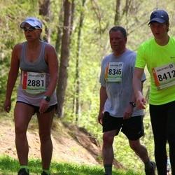36. Tartu Maastikumaraton - Pille Selter (2881), Agur Lehis (8346), Armido Maamägi (8412)