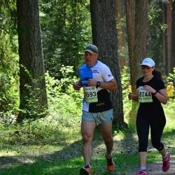 36. Tartu Maastikumaraton - Jaanus Pruuli (8593), Anna Stepanova (8744)