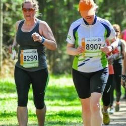 36. Tartu Maastikumaraton - Kersti Kuris (8299), Anneli Vellerind (8907)
