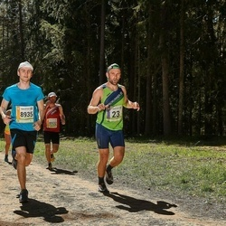 36. Tartu Maastikumaraton - Björn Puna (23), Karl Voo (8935)