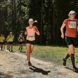 36. Tartu Maastikumaraton - Mari Muldmaa (2172), Annika Vaiksaar (8889)