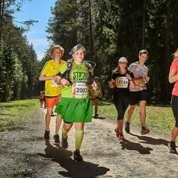 36. Tartu Maastikumaraton - Olga Mikulova (2003), Kertu Liebert (8372), Anna Stepanova (8744)