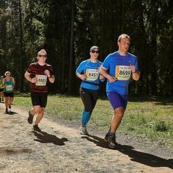 36. Tartu Maastikumaraton - Dagmar Miil (8451), Dmitri Sahharov (8699), Ando Vaan (8885)