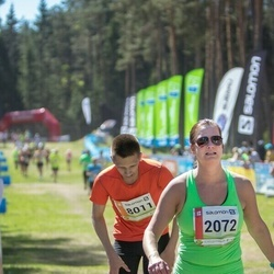 36. Tartu Maastikumaraton - Ivi Tigane (2072), Andor Aland (8011)
