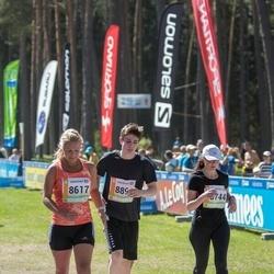 36. Tartu Maastikumaraton - Reelika Päädam (8617), Anna Stepanova (8744)