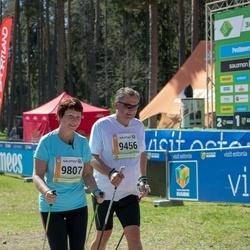 36. Tartu Maastikumaraton - Benno Johanson (9456), Merle Unger (9807)