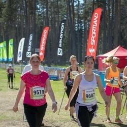36. Tartu Maastikumaraton - Berit Kroon (9519), Anne Randmäe (9687)