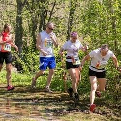 36. Tartu Maastikumaraton - Mara Lakute (2782), Annika Kartsepp (8196), Siim Külasepp (8319)