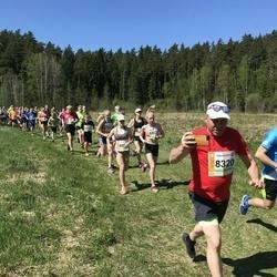 36. Tartu Maastikumaraton - Aivo Pärn (8320), Anni Lii Unn (8872)