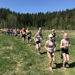 36. Tartu Maastikumaraton - Grete-Liis Loog (8394), Teddy Luik (8401), Anni Lii Unn (8872), Keiu Vakmann (8891)