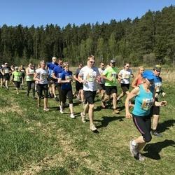 36. Tartu Maastikumaraton - Arko Kurg (8296), Ingrid Sahk (8700)