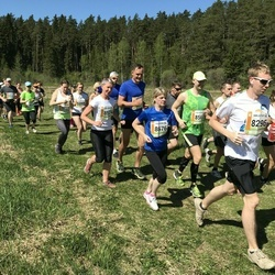 36. Tartu Maastikumaraton - Arko Kurg (8296), Taavi Pedaja (8561), Evelin Pihlak (8574), Anne Roos (8676)