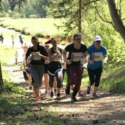 36. Tartu Maastikumaraton - Anne Kroman (5067), Evelin Vahtra (5208), Anna Malena Kuris (5253)