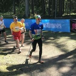 36. Tartu Maastikumaraton - Kunnar Karu (2746), Aare Allaje (8017)