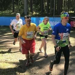 36. Tartu Maastikumaraton - Kunnar Karu (2746), Aare Allaje (8017), Ahto Jaska (8139), Kaja Jõemets (8152)